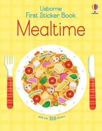 first-sticker-book-mealtime