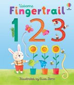 Fingertrail 123 Hardcover  by Felicity Brooks