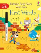 Early Years Wipe-Clean: First Words
