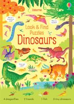 Look And Find Puzzles: Dinosaurs Paperback  by Kirsteen Robson