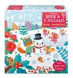 Usborne Book and Jigsaws: Winter Wonderland Hardcover  by SAM TAPLIN