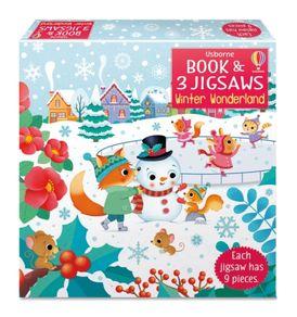 Usborne Book and Jigsaws: Winter Wonderland
