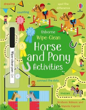 Wipe-Clean: Horse And Pony Activities