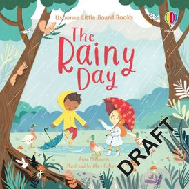 Little Board Books: The Rainy Day