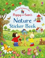 Poppy And Sam: Poppy And Sam's Nature Sticker Book Hardcover  by Kate Nolan