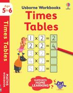 Usborne Workbooks Times Tables 5-6 Hardcover  by Holly Bathie