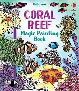 Coral Reef Magic Painting Book