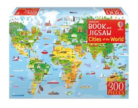 Book and Jigsaw: Cities of the World
