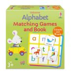 Alphabet Matching Games and Book
