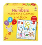 Number Matching Games and Book Hardcover  by Kate Nolan