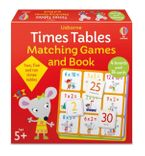 Times Tables Matching Games and Book Hardcover  by Kate Nolan