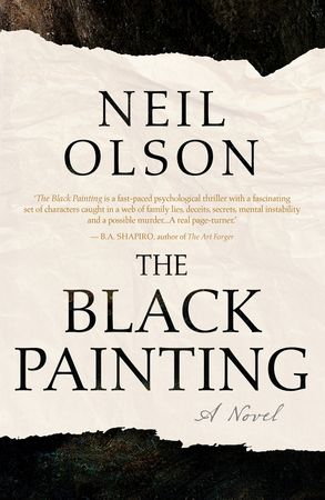 Cover image - The Black Painting