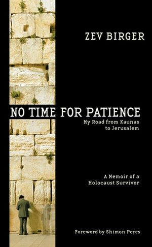 No Time for Patience book image