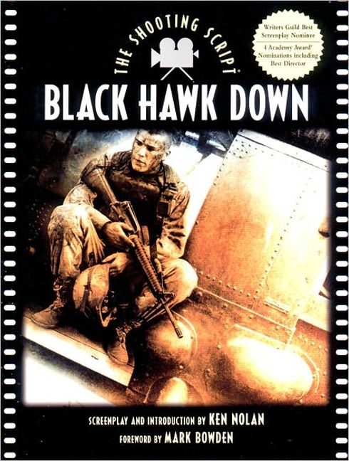Black Hawk Down Book Cover ~ Black hawk down ken nolan steve zaillian paperback