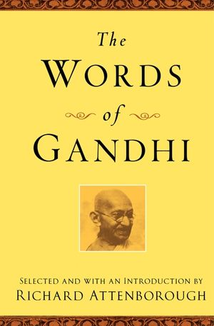The Words of Gandhi book image