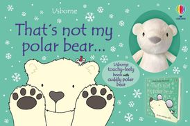 THATS NOT MY POLAR BEAR  BOOK AND TOY