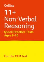Collins 11+ Practice – 11+ Non-Verbal Reasoning Quick Practice Tests Age 9-10 (Year 5): For the 2021 CEM Tests Paperback  by Collins 11+
