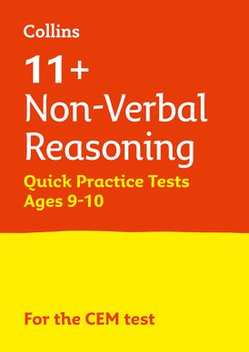 Collins 11+ Practice – 11+ Non-Verbal Reasoning Quick Practice Tests Age 9-10 (Year 5): For the 2021 CEM Tests