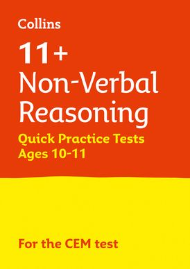 Collins 11+ Practice – 11+ Non-Verbal Reasoning Quick Practice Tests Age 10-11 (Year 6): For the 2021 CEM Tests