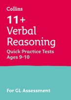 Collins 11+ Practice – 11+ Verbal Reasoning Quick Practice Tests Age 9-10 (Year 5): For the 2021 GL Assessment Tests Paperback  by Collins 11+