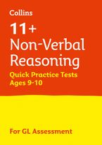Collins 11+ Practice – 11+ Non-Verbal Reasoning Quick Practice Tests Age 9-10 (Year 5): For the 2020 GL Assessment Tests Paperback  by Collins 11+