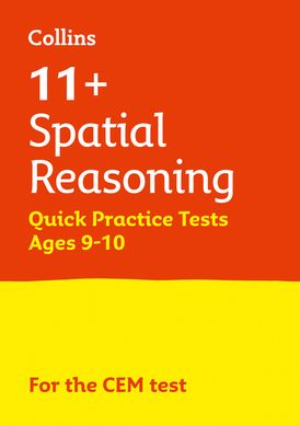 Collins 11+ Practice – 11+ Spatial Reasoning Quick Practice Tests Age 9-10 (Year 5): For the 2021 CEM Tests