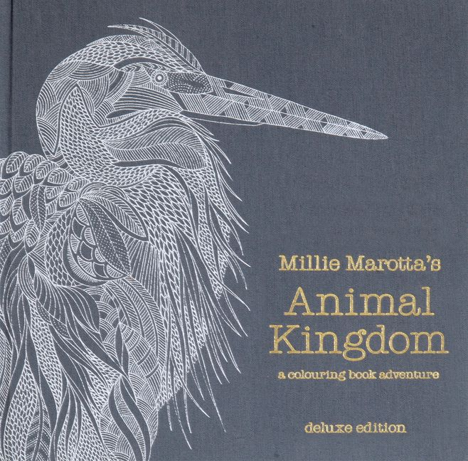 Millie Marottas Animal Kingdom Deluxe Edition A Colouring Book Adventure
