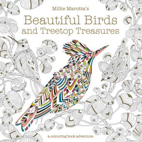 Cover image - Millie Marotta's Beautiful Birds and Treetop Treasures: A Colouring BookAdventure