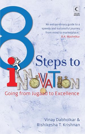 8 Steps To Innovation : Going From Jugaad To Excellence book image
