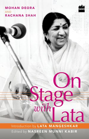 On Stage with Lata book image