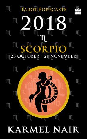 Scorpio Tarot Forecasts 2018 book image