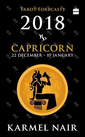 Capricorn Tarot Forecasts 2018 book image