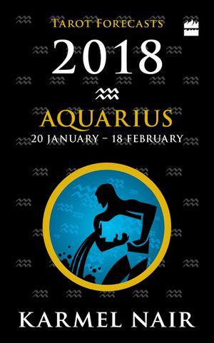 Aquarius Tarot Forecasts 2018 book image