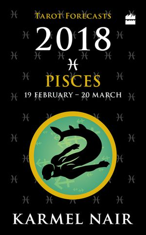 Pisces Tarot Forecasts 2018 book image