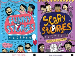 Flipped: Funny Stories/Scary Stories book image