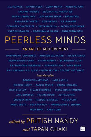 Peerless Minds: A Celebration Hardcover  by