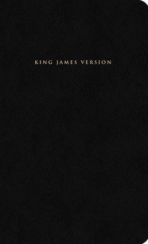 KJV Black Leather Bible with Slipcase :HarperCollins Australia