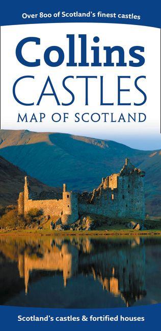 Pictorial Maps - Castles Map Of Scotland :HarperCollins Australia on