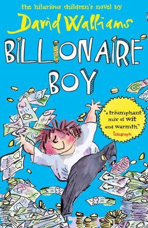 Cover image - Billionaire Boy
