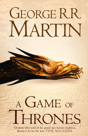 Image result for book cover a game of thrones