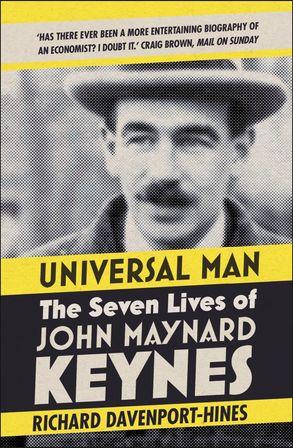 Cover image - Universal Man: The Seven Lives of John Maynard Keynes