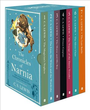 Cover image - The Chronicles of Narnia - The Chronicles of Narnia Boxed Set