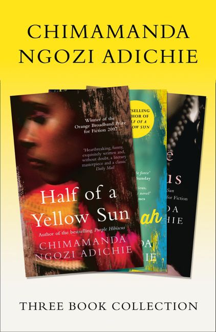 Half Of A Yellow Sun Americanah Purple Hibiscus Chimamanda Ngozi