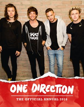 Cover image - One Direction: The Official Annual 2016