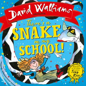 Cover image - There's a Snake in My School!