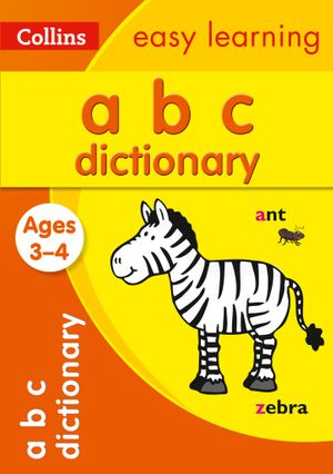 Collins Easy Learning - ABC Dictionary Ages 3 To 4