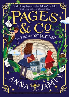 Cover image - Pages & Co. (2) - Tilly and the Lost Fairytales