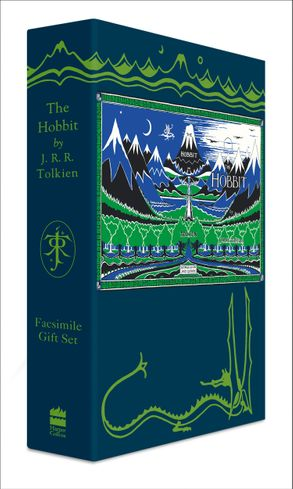 Cover image - The Hobbit Facsimile Gift Edition