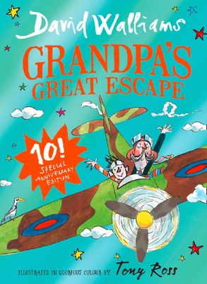 Cover image - Grandpa's Great Escape - Anniversary Edition