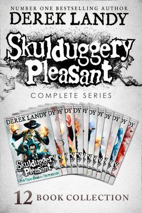 Cover image - Skulduggery Pleasant: Books 1 - 12